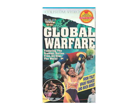 WWF GLOBAL WARFARE VHS TAPE