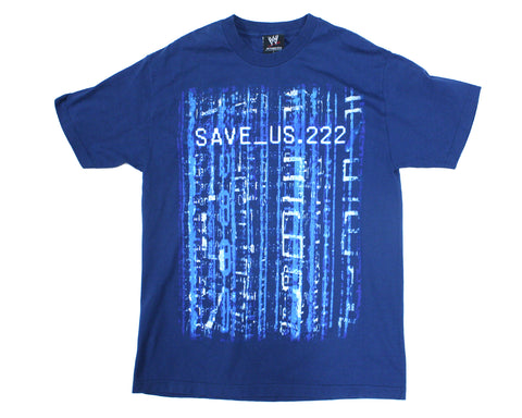 WWE CHRIS JERICHO SAVE.US T-SHIRT LG