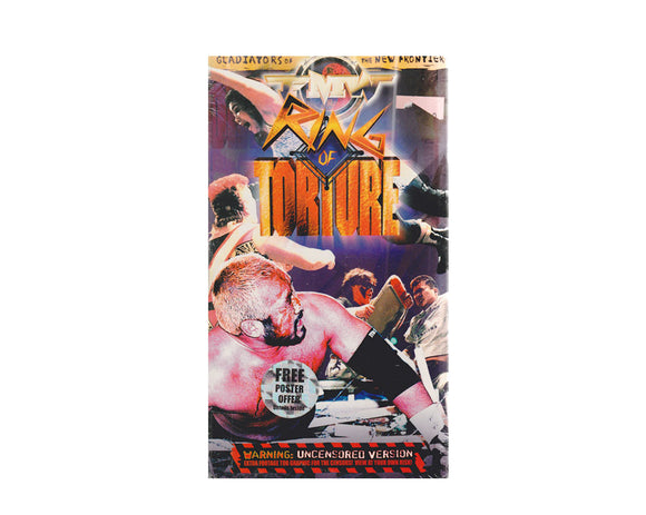 FMW RING OF TORTURE VHS