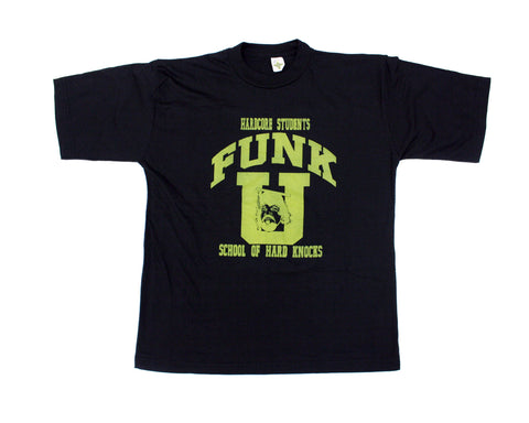 TERRY FUNK FUNK-U GOLD/BLACK T-SHIRT XL