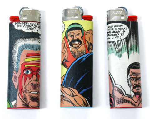 WCW COMIC BOOK LIGHTERS [SERIES 4]