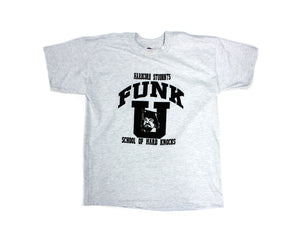 TERRY FUNK FUNK-U GRAY/BLACK T-SHIRT XL
