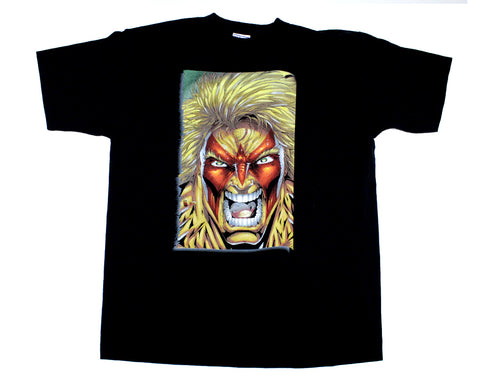 ULTIMATE WARRIOR COMIC BOOK T-SHIRT XL
