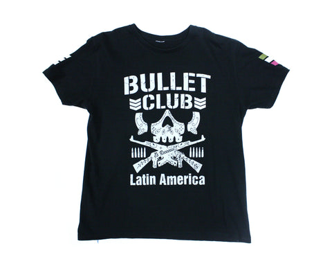 NJPW BULLET CLUB BONE SOLDIER LATIN AMERICA T-SHIRT XL