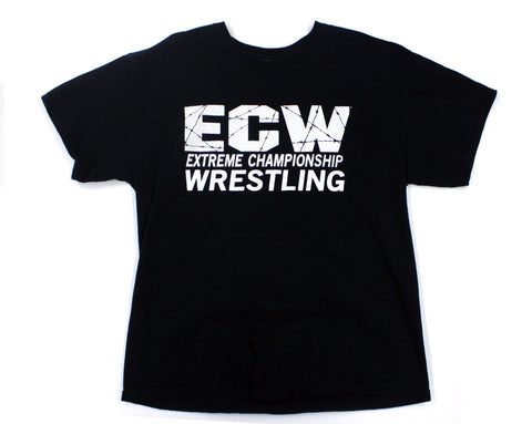 ECW POLITICALLY INCORRECT T-SHIRT LG