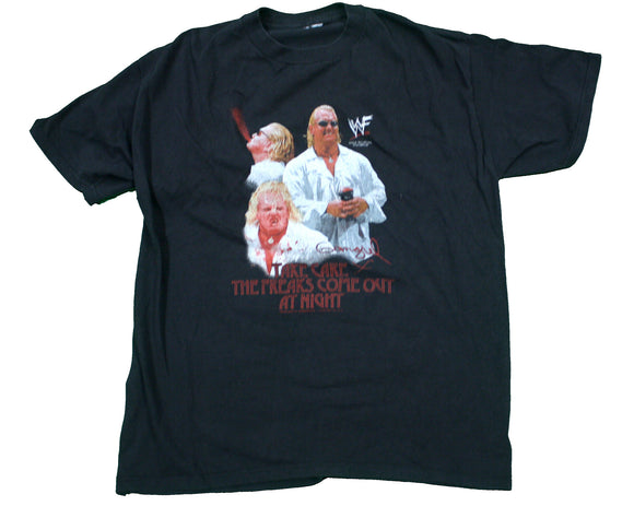 WWF GANGREL 'THE FREAKS COME OUT' VINTAGE T-SHIRT XL
