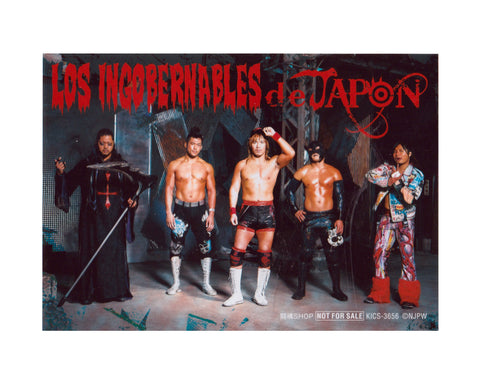 NJPW LOS INGOBERNABLES PROMOTIONAL PHOTO