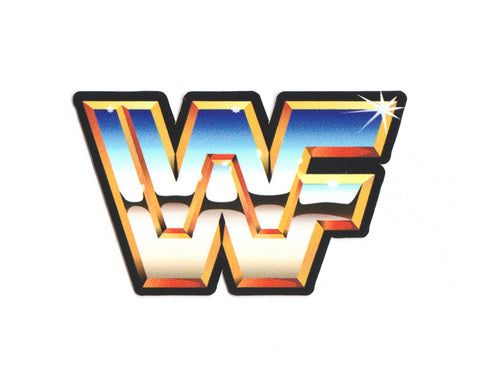 WWF LOGO DIE-CUT STICKERS [2-PACK]