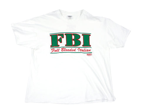 ECW FBI T-SHIRT XL