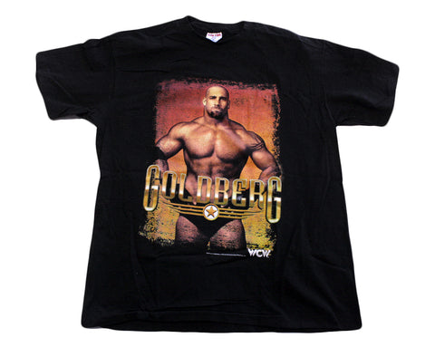 WCW GOLDBERG POSE T-SHIRT XL