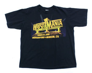 WWF WRESTLEMANIA 12 VINTAGE SHIRT XL