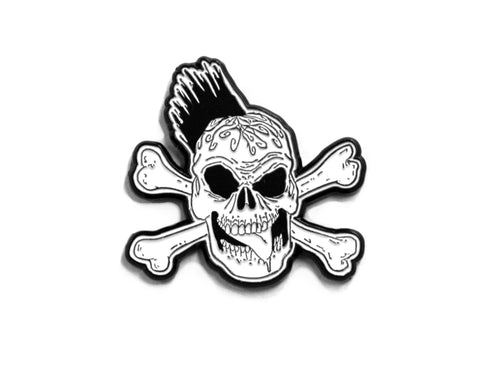 LONELY WARRIOR LOGO PIN