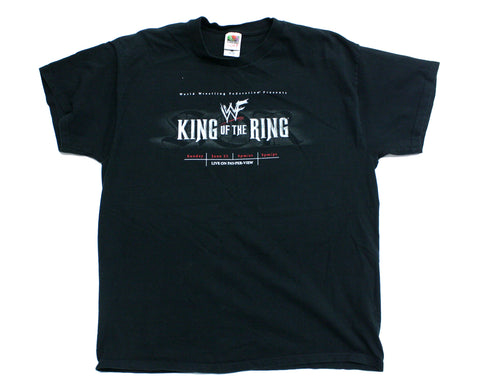 WWF KING OF THE RING 2002 T-SHIRT XL