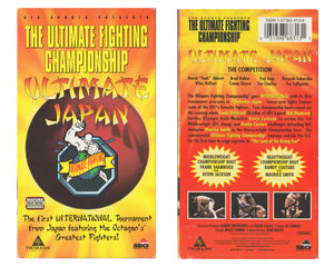 UFC ULTIMATE JAPAN VHS TAPE