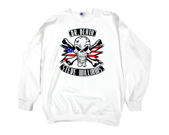DR. DEATH STEVE WILLIAMS SWEATSHIRT LG
