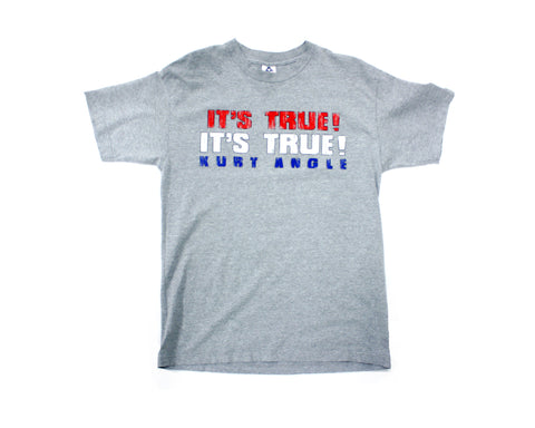 WWF KURT ANGLE IT'S TRUE T-SHIRT LG