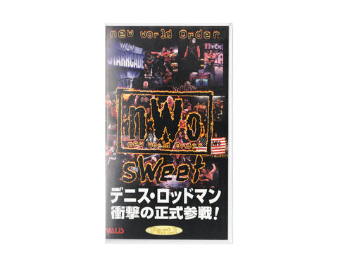 WCW NWO TOO SWEET PT. 1 JAPANESE VHS TAPE