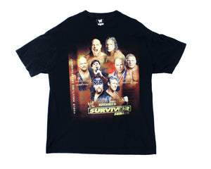 WWE SURVIVOR SERIES 2003 VINTAGE-SHIRT XL