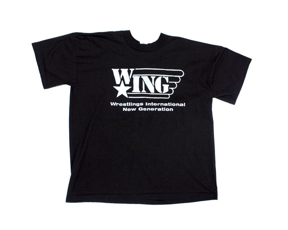 W*ING GRAY & BLACK T-SHIRT XL