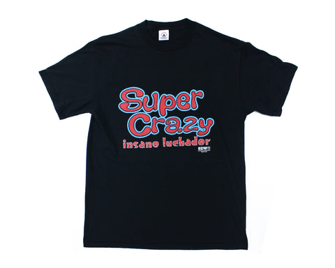 ECW SUPER CRAZY VINTAGE T-SHIRT LG