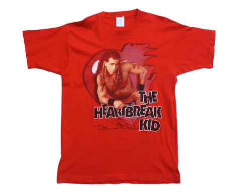 WWF SHAWN MICHAELS RED T-SHIRT LG