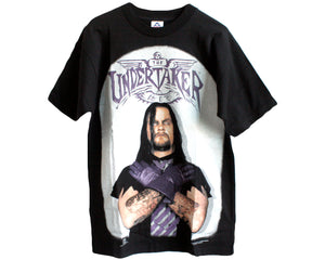 WWF UNDERTAKER PHOTO T-SHIRT MED