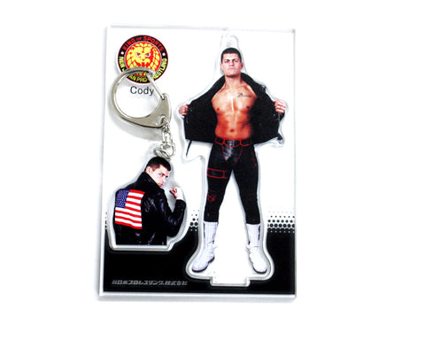 NJPW CODY TWO KEYCHAIN SET