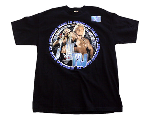 WWF CHRIS JERICHO RAW IS JERICHO T-SHIRT XL