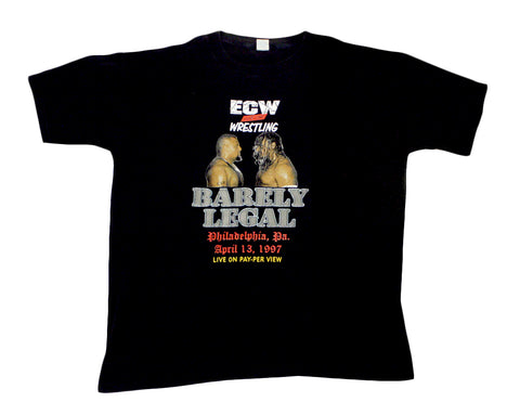ECW BARELY LEGAL T-SHIRT XXL