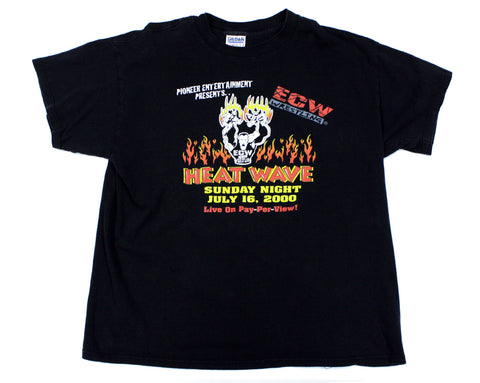 ECW HEATWAVE 2000 T-SHIRT XL