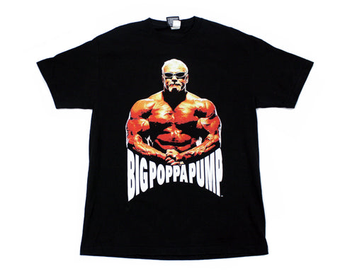 WWE BIG POPPA PUMP FREAKS T-SHIRT LG