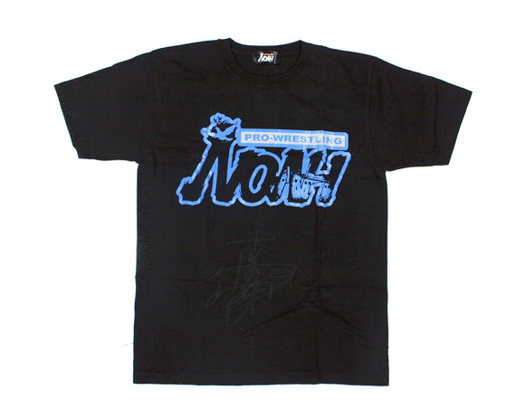 PRO WRESTLING NOAH SIGNED T-SHIRT SMALL