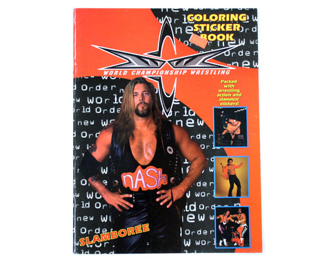 WCW COLORING & STICKER BOOK