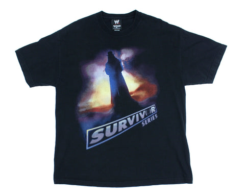 WWE SURVIVOR SERIES 2005 VINTAGE T-SHIRT XL
