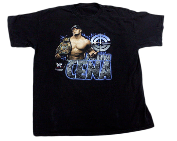 WWE JOHN CENA TITLE BELT T-SHIRT XL