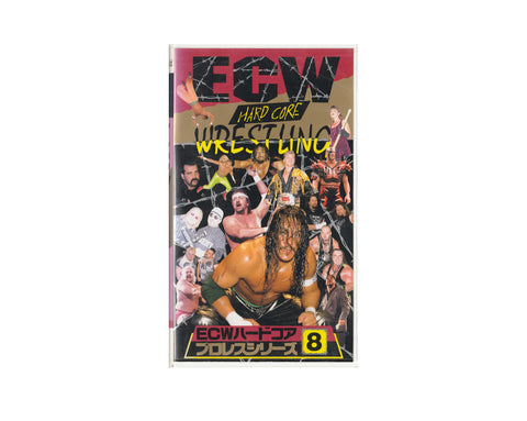 ECW HARDCORE #8 JAPANESE VHS TAPE