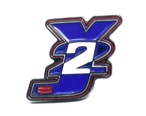 Y2J HOCKEY LOGO PIN