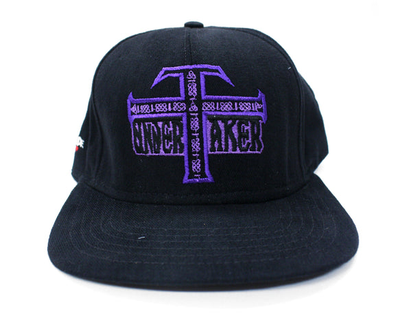WWF UNDERTAKER 'TO HELL AND BACK' VINTAGE HAT
