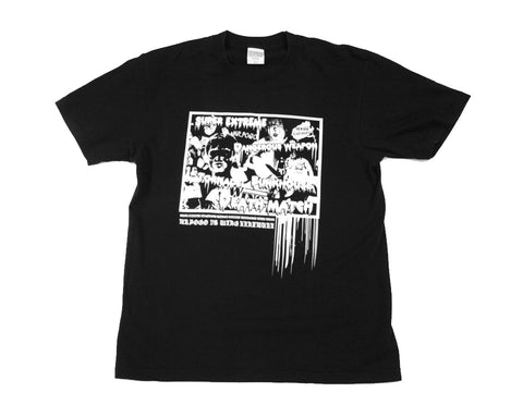 W*ING POGO & KANEMURA 'DANGEROUS WEAPON' T-SHIRT LG