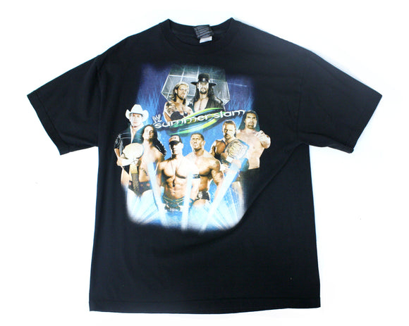 WWE SUMMERSLAM 2008 T-SHIRT XL