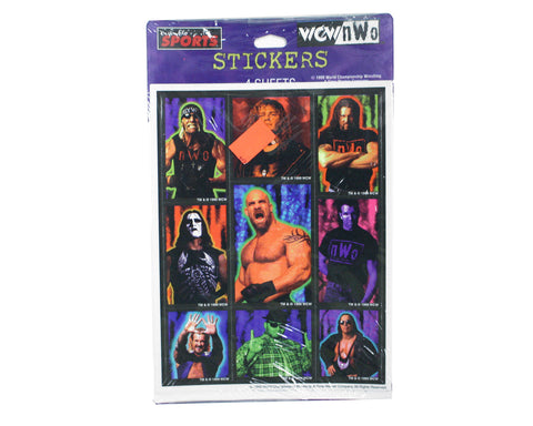 WCW NWO 1999 STICKERS SHEETS