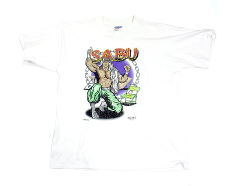 ECW SABU CARTOON T-SHIRT XL