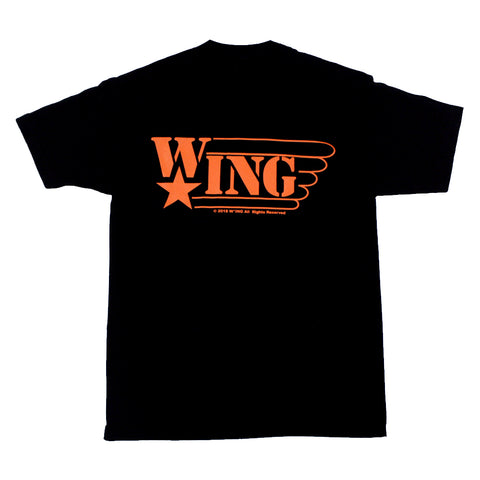 W*ING ORANGE LOGO T-SHIRT