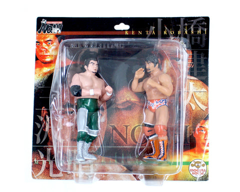 NOAH Misawa vs Kobashi Figures Set