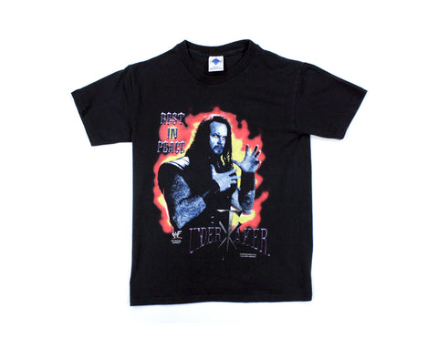 WWF THE UNDERTAKER R.I.P. T-SHIRT XS/YOUTHLG