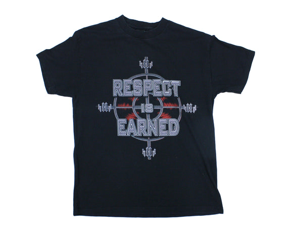WWF TRIPLE H RESPECT & FEAR T-SHIRT LG