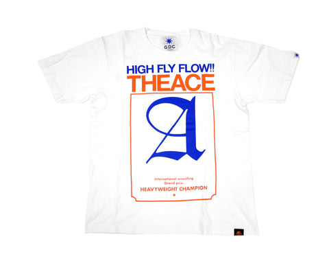 NJPW TANAHASHI HIGH FLY FLOW T-SHIRT MED
