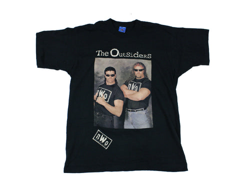 WCW NWO OUTSIDERS PHOTO T-SHIRT LG