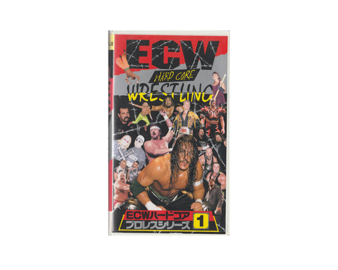 ECW HARDCORE #1 JAPANESE VHS TAPE