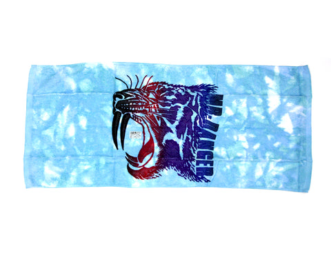 MATSUNAGA MR. DANGER TOWEL - BLUE